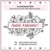 J-7 avant la fête des amoureux 💕  Pour faire plaisir à votre Valentin(e), ROSE Chambéry et ROSE Lyon6 vous offrent une remise de 10%* chez nos fleuristes partenaires 💐 dès 30€ d'achat.  @latelierfleuriste sur Chambéry et @3couleursvertcreation sur Lyon 6ème, vous offrent également 10%* chez nous ! (*dès 30€ d'achat)  De quoi pouvoir cherir votre amoureux(se) 🌹  Nous vous souhaitons une très belle Saint-Valentin🥂💞 . #saintvalentin #love #happyvalentinedays #gift #flowers #roselesboutiques #lyon #chambéry